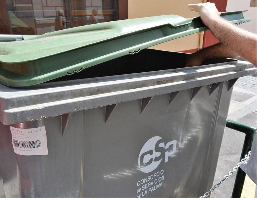 Se reduce la generación de residuos en La Palma