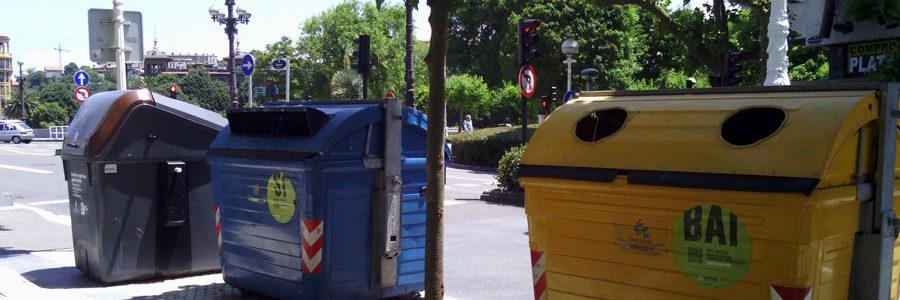 Gipuzkoa prevé alcanzar este año los objetivos europeos de reciclaje para 2025