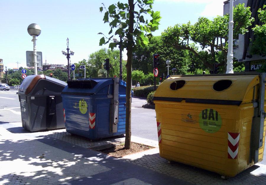 Gipuzkoa logrará este año los objetivos de reciclaje de 2025