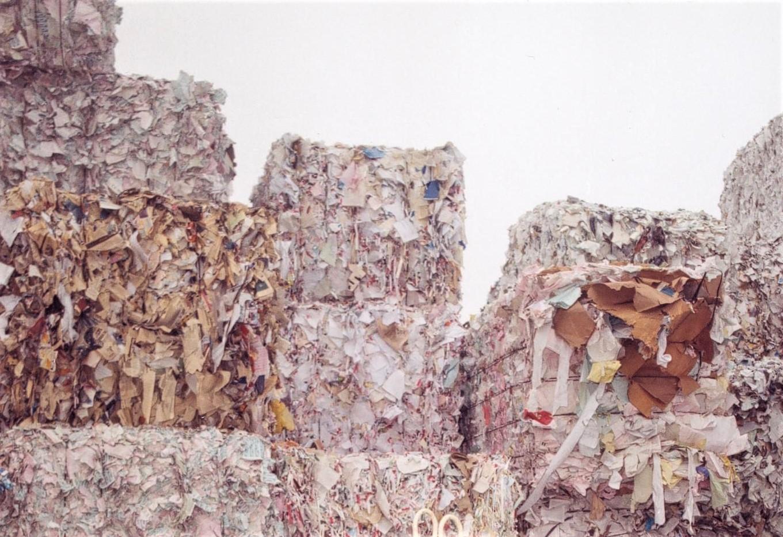 Papel recuperado para reciclar