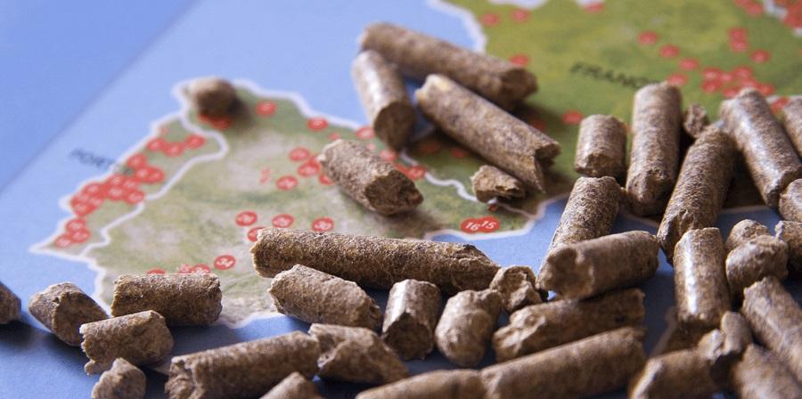 Récord de producción de pellet en España