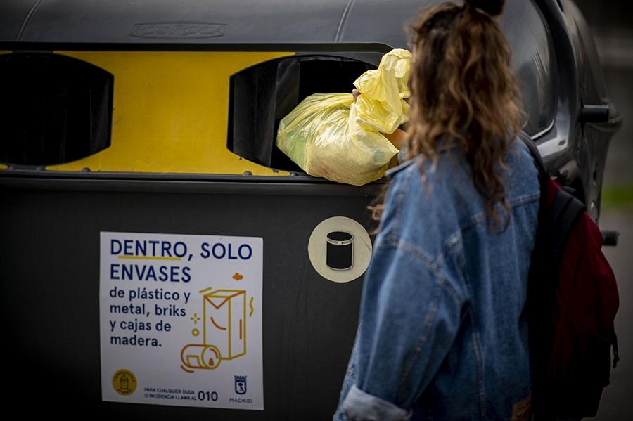 Crece el reciclaje de envases en 2019