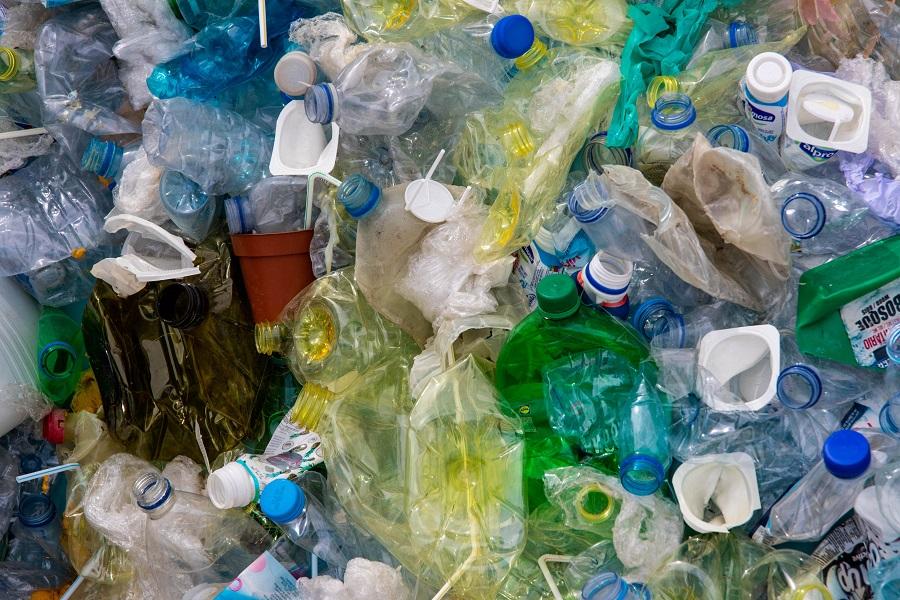 residuos de plástico