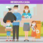 LIR invita a pesar los residuos generados en casa durante el confinamiento
