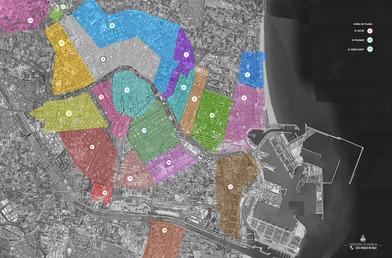 Sectorización de Valencia para rastrear el coronavirus en las aguas residuales