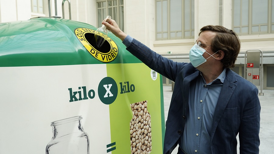Ecovidrio dona 6.000 kg de comida al Banco de Alimentos gracias al reciclaje de vidrio