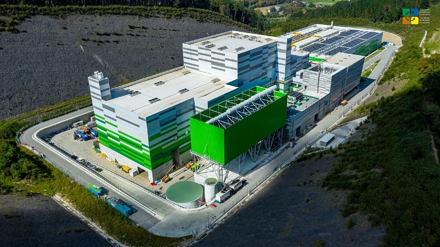 Vista aérea del complejo de Gipuzkoa en el que se ubica la planta de valorización energética