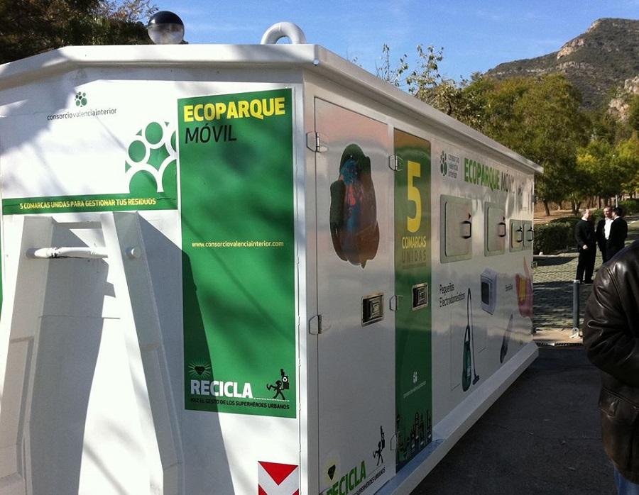 Llevar los residuos a los puntos limpios del CVI tiene premio