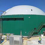 La planta de biogás de Tuero en Venta de Baños gestionará 90 toneladas diarias de residuos orgánicos