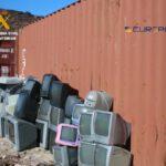 Desarticulado un grupo criminal que trasladó ilegalmente 2.500 toneladas de residuos peligrosos desde Tenerife a África