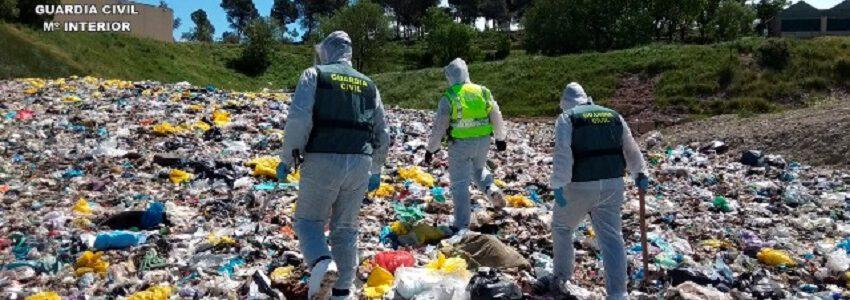 La Guardia Civil ha realizado más de 500 inspecciones a empresas gestoras de residuos sanitarios durante el estado de alarma