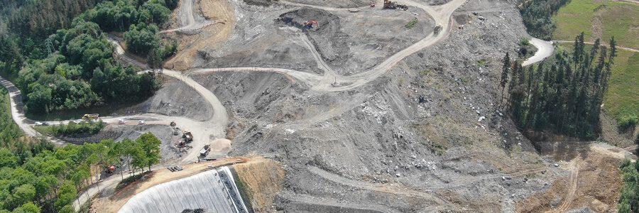 El Gobierno Vasco remite a Verter Recycling facturas por valor de 3,4 millones de euros por los trabajos realizados en el vertedero de Zaldibar