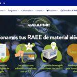 AMBIAFME lanza una nueva web sobre gestión de residuos de material eléctrico