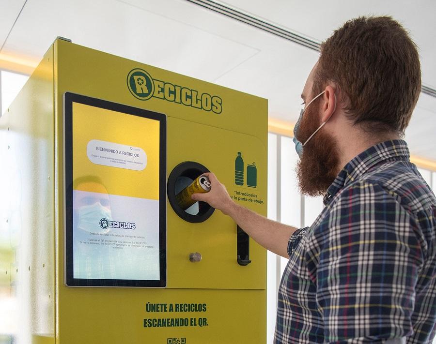 El sistema Reciclos recompensa el reciclaje de envases