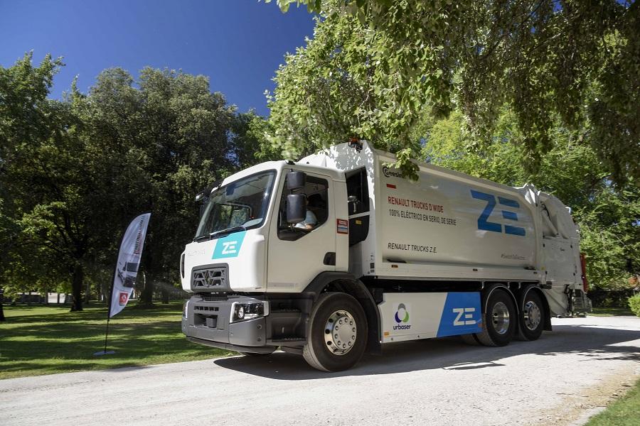 Entrega de un camión 100% eléctrico para la recogida de residuos en Barcelona