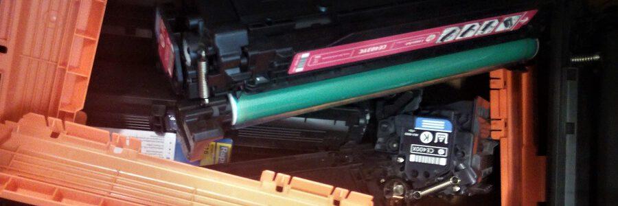 La Universidad de Oviedo y Recyclia investigarán nuevos usos para los residuos de tóner y tinta