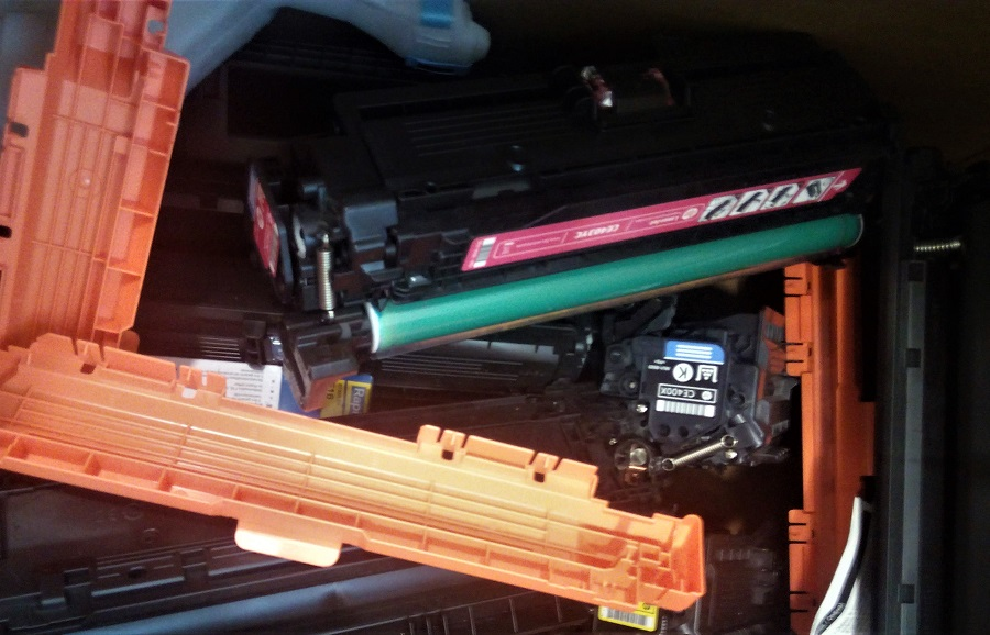 Investigarán nuevos usos para los residuos de tóner y tinta