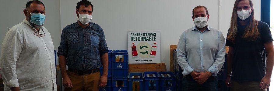 El impuesto balear de turismo sostenible impulsa la creación de un centro de envases retornables en Mallorca