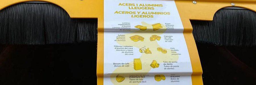 Los valencianos ya pueden reciclar sus cápsulas de café de aluminio en el contenedor amarillo
