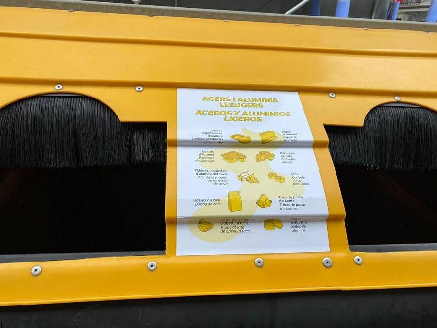 En Valencia ya se pueden reciclar las cápsulas de café de aluminio en el contenedor amarillo