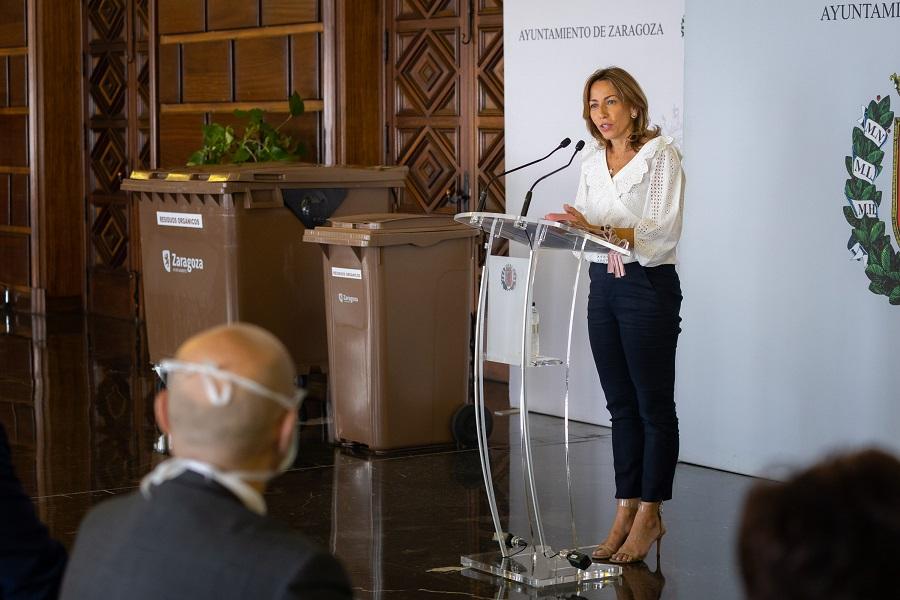 Presentación de la recogida de materia orgánica a grandes generadores de Zaragoza