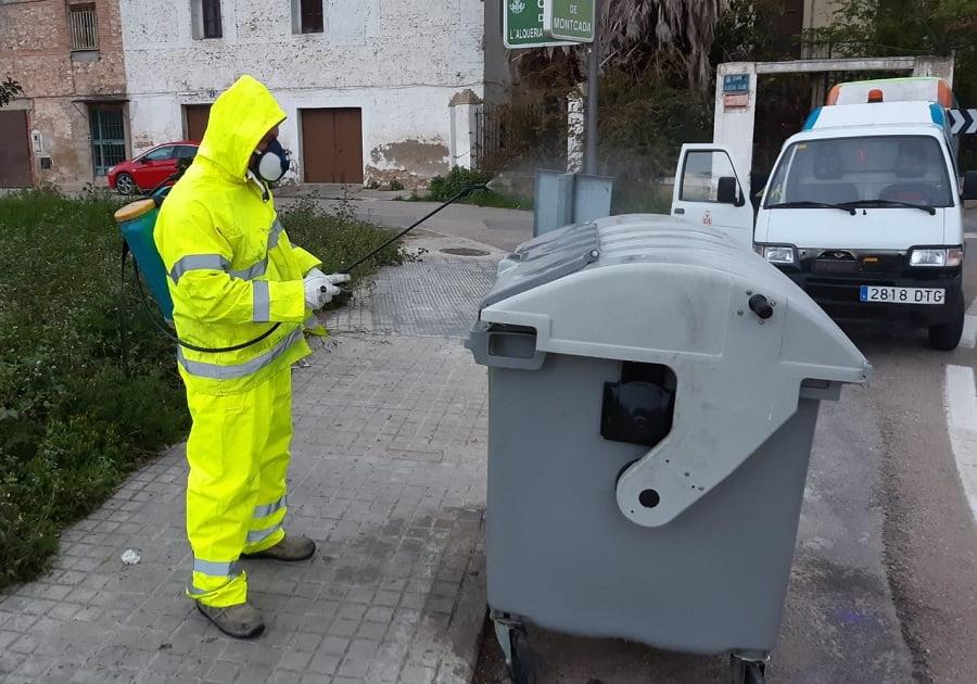Las labores de desinfección en Valencia se reorientarán según la presencia del coronavirus en las aguas residuales