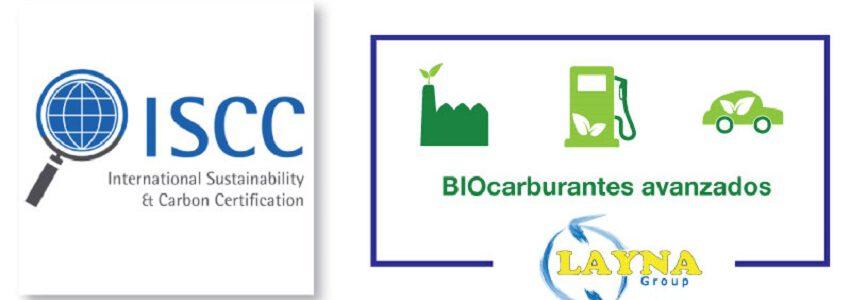 Grupo Layna certifica su planta de biocarburantes a partir de residuos de Guadalajara bajo el esquema europeo ISCC
