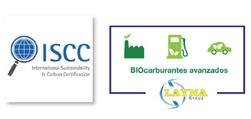 Grupo Layna obtiene la certificación ISCC en su planta de biocarburantes