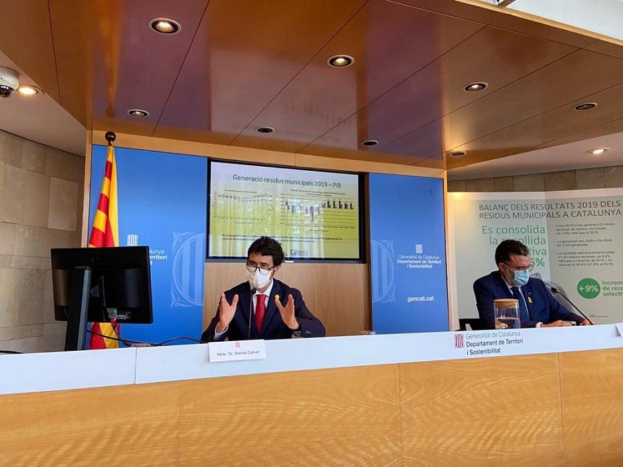 Cataluña alcanza su récord de recogida selectiva de residuos