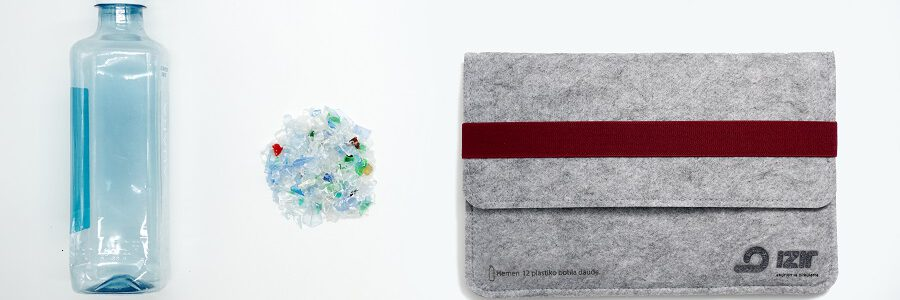 Eko-REC e Irizar colaboran para transformar miles de botellas de plástico en accesorios de trabajo