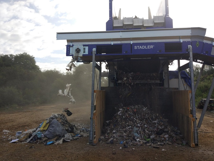 STADLER participa en un proyecto de Minería de vertederos