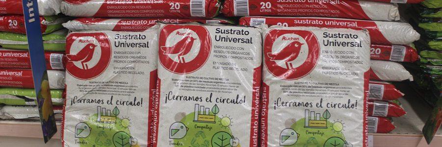 Alcampo comercializa un sustrato obtenido de sus propios residuos orgánicos