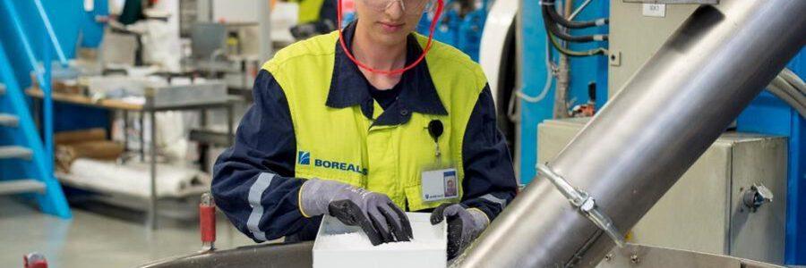 El BEI financiará con 250 millones el programa para la circularidad de los plásticos de Borealis