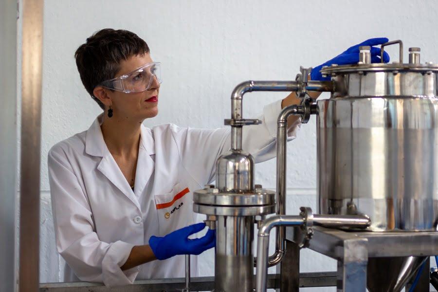 Proyecto para el reciclaje de biocomposites