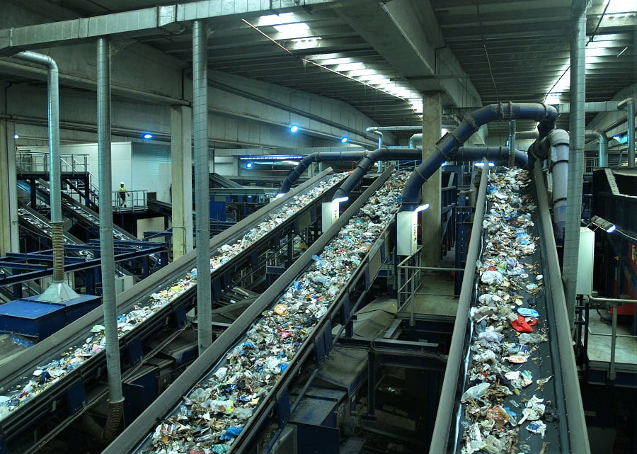 Planta de tratamiento de residuos en el Área Metropolitana de Barcelona