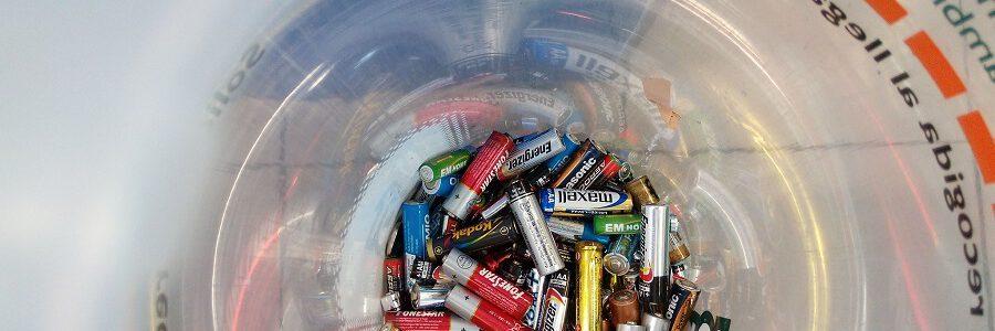 La patronal europea de reciclaje de pilas pide un objetivo de recogida basado en los residuos disponibles