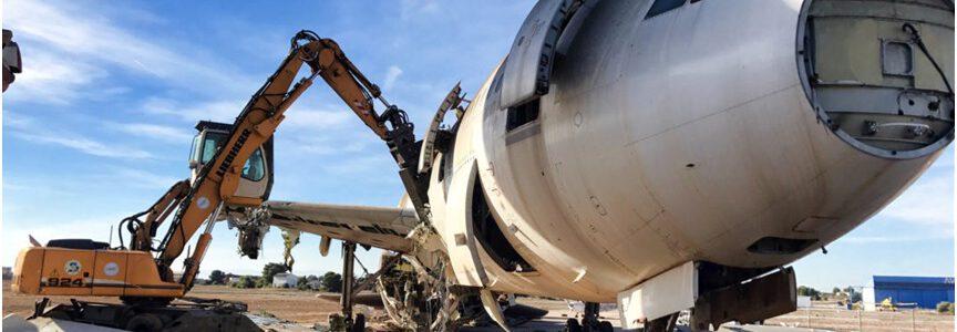 El proyecto ReINTEGRA desarrollará nuevos métodos de reciclaje de aleaciones ligeras de los paneles soldados de aeronaves