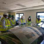 La agencia gallega de desarrollo económico visita el complejo de gestión de residuos de Sogama