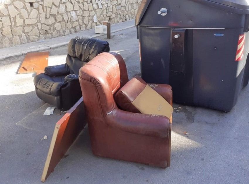Aumentan las denuncias en Jaén por el abandono de residuos