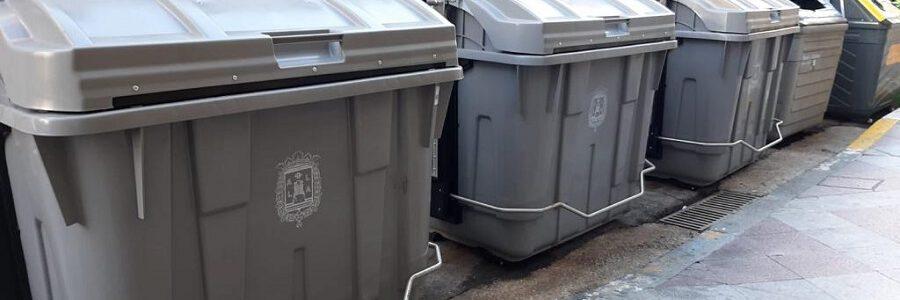 Alicante renueva 1.100 contenedores de residuos urbanos