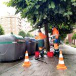 EMULSA pone en marcha un plan de refuerzo de limpieza de calles y contenedores de residuos