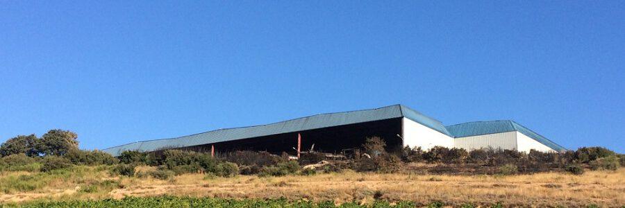 Ecologistas achacan el incendio de la planta de reciclaje de La Rioja a una «deficiente gestión»