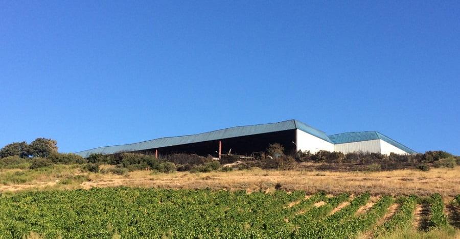 Amigos de la Tierra achaca a la deficiente gestión el incendio de la planta de reciclaje de La Rioja