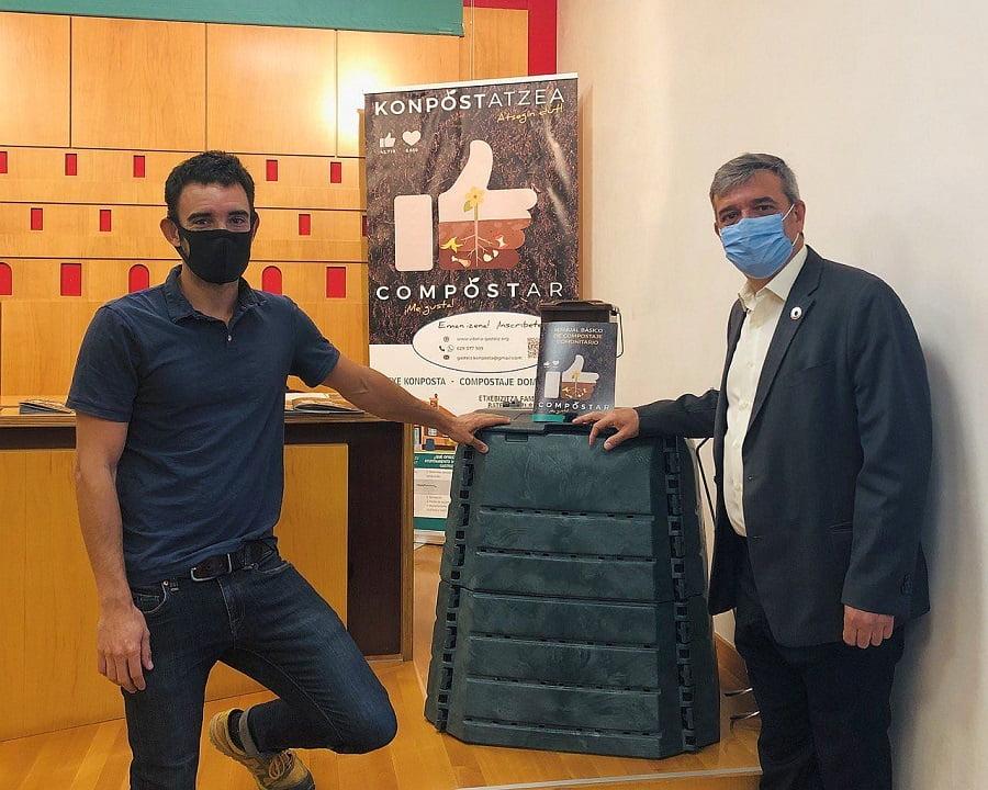 Presentación del programa de compostaje doméstico y comunitario en Vitoria-Gasteiz