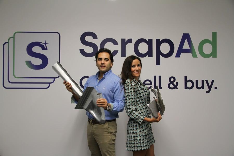 ScrapAd es una nueva plataforma digital para la compraventa de residuos en todo el mundo
