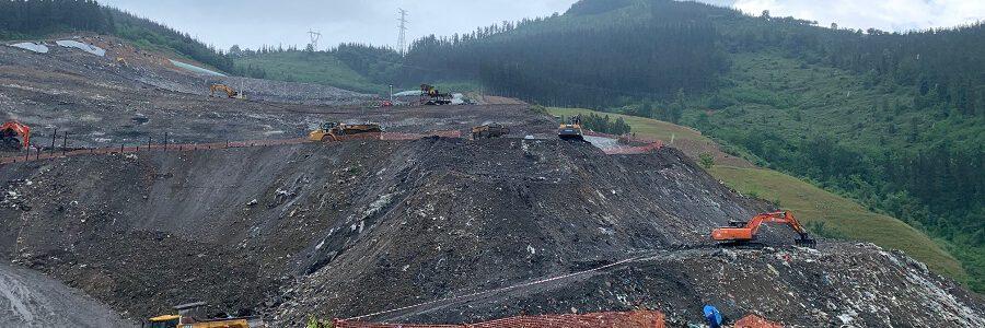 Una auditoría externa concluye que el Gobierno Vasco cumplió con los requisitos de control del vertedero de Zaldibar