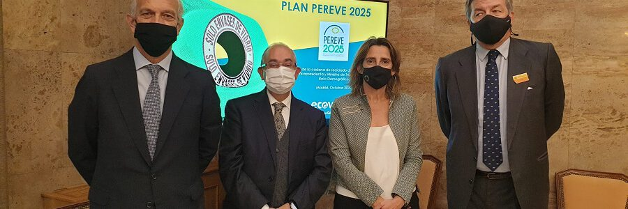 La cadena de reciclaje de vidrio se compromete a recuperar más del 80% de sus envases en 2025