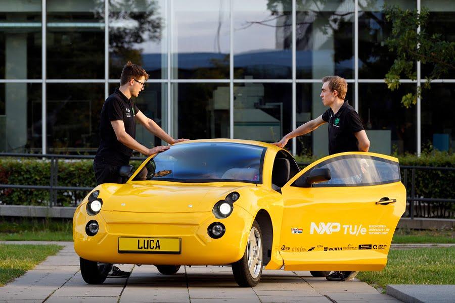 Luca: un coche fabricado solo con residuos
