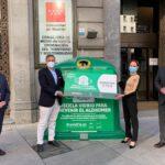 Casi 6.000 euros para luchar contra el Alzheimer gracias al reciclado de vidrio