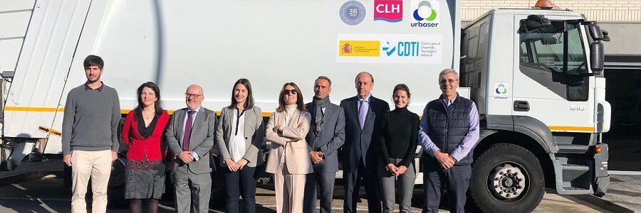 Urbaser y CLH concluyen con éxito un proyecto de conversión de residuos plásticos en combustible